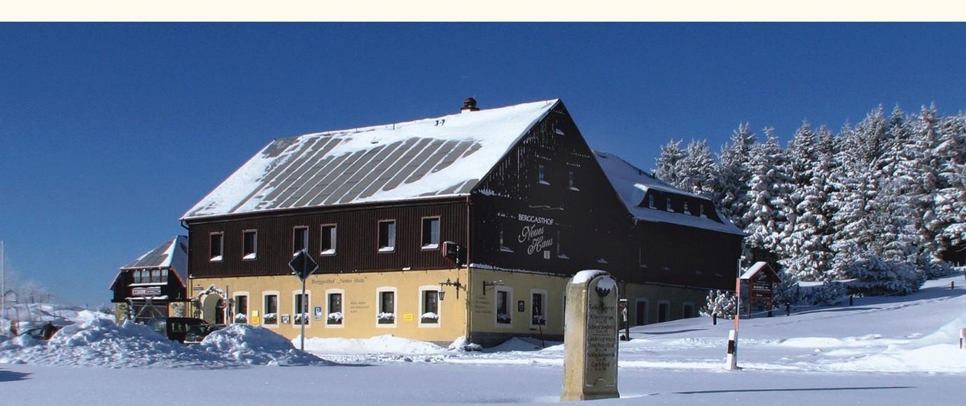 Bergasthof Neues Haus in Oberwiesenthal am Fichtelberg